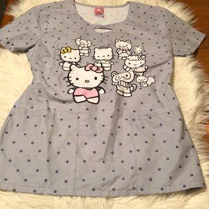 Hello Kitty Scrubs EUC